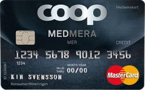 Coop medmera mer mastercard