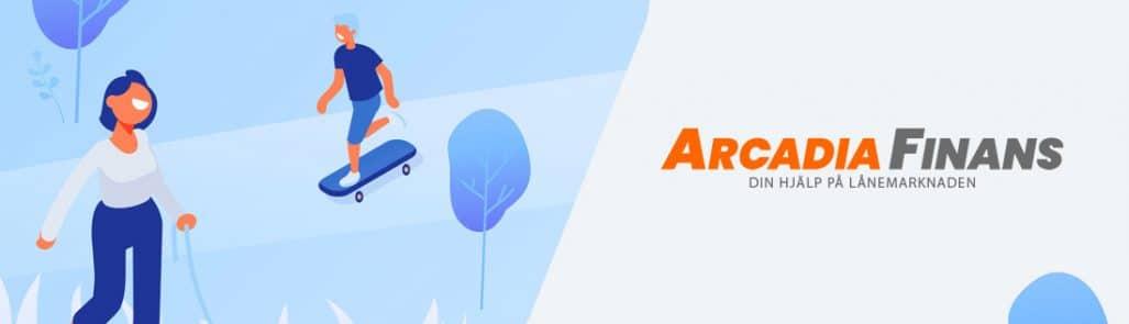 Arcadia finans bild